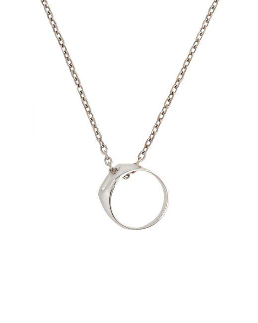 Maison Margiela - Metallic Halskette for Men - Lyst