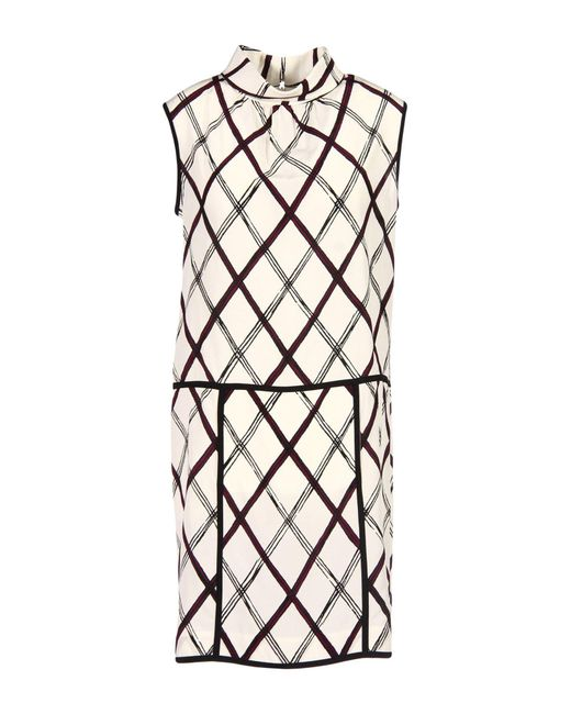 Oscar de la Renta - White Short Dress - Lyst