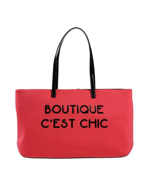 Boutique Moschino - Red Shoulder Bag - Lyst