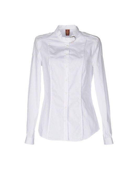 Dondup - White Shirt - Lyst