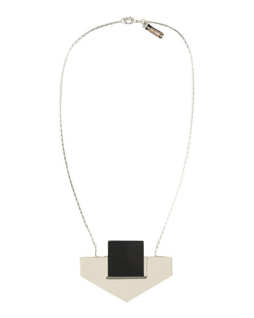Paolo Errico | Black Necklace | Lyst