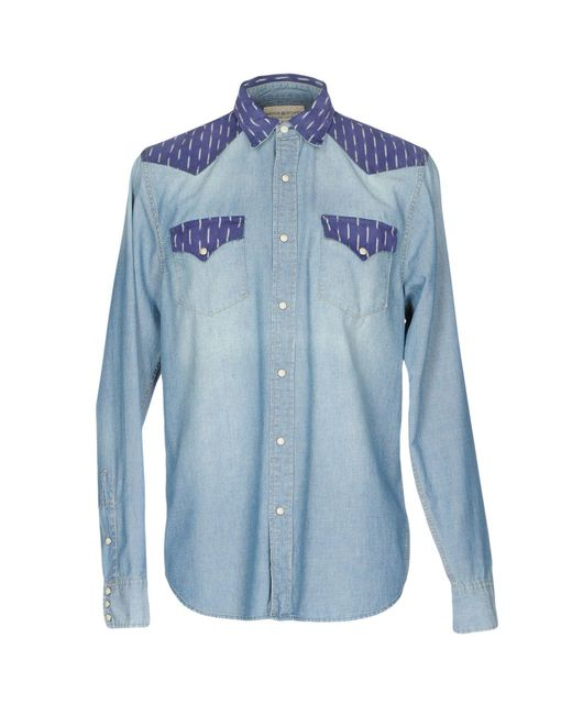 Denim & Supply Ralph Lauren - Blue Denim Shirt for Men - Lyst