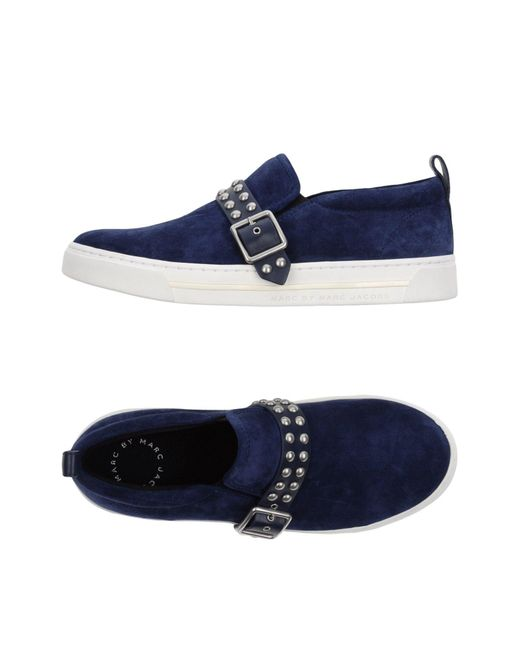 Marc By Marc Jacobs - Blue Low-tops & Sneakers - Lyst