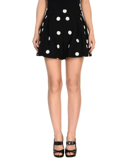 Boutique Moschino - Black Mini Skirts - Lyst