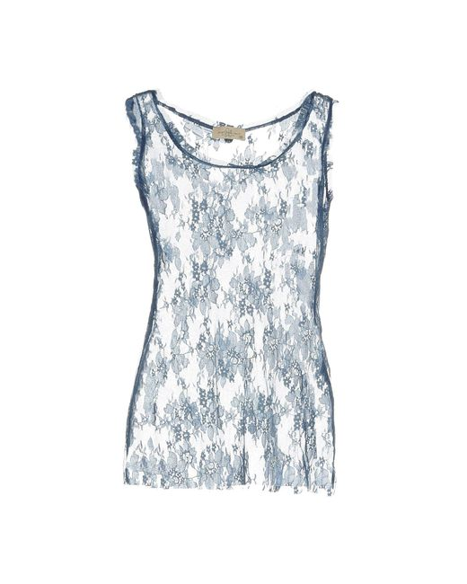 Just For You - Blue T-shirt - Lyst