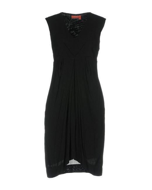 Manila Grace - Black Knee-length Dresses - Lyst