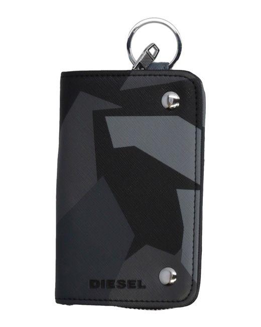 DIESEL - Black Coin Purses - Lyst