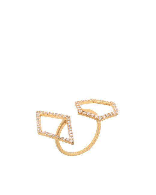Kevia - Metallic Ring - Lyst