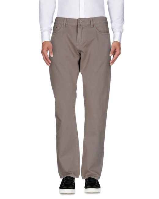 Jean Shop - Gray Casual Trouser for Men - Lyst