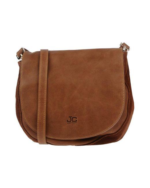 J&c Jackyceline - Brown Handbags - Lyst