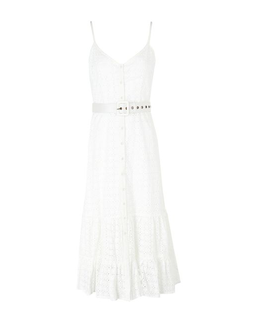 We Are Kindred White 3/4 Length Dress