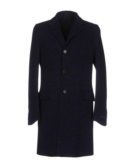 Prada - Blue Coats for Men - Lyst