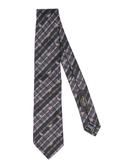 Gabriele Pasini - Gray Tie for Men - Lyst
