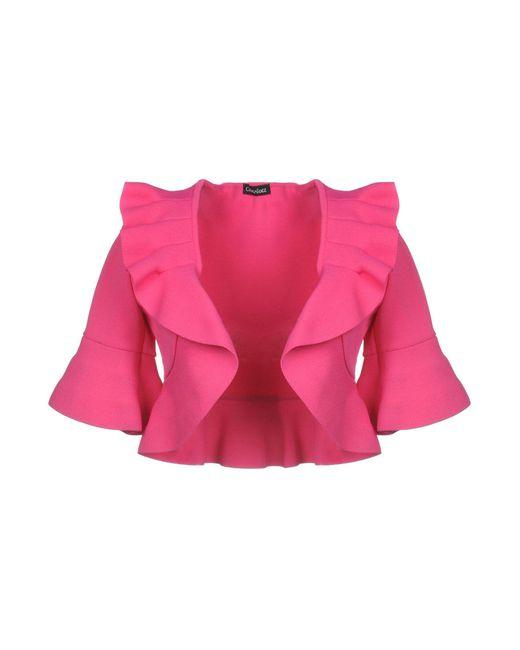 Charlott - Pink Cardigan - Lyst