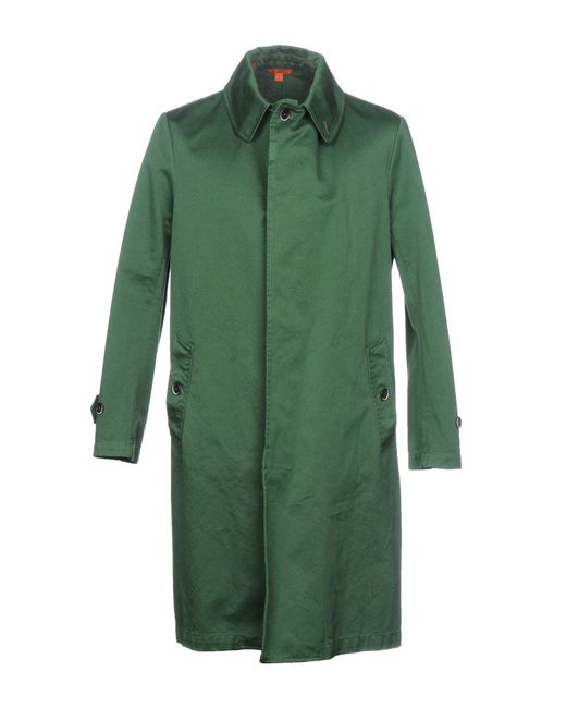 Barena - Green Overcoat for Men - Lyst