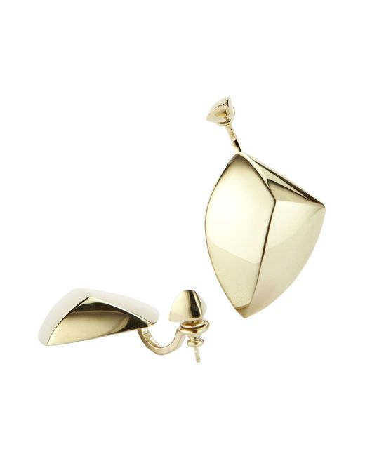 XENIA BOUS - Metallic Earrings - Lyst