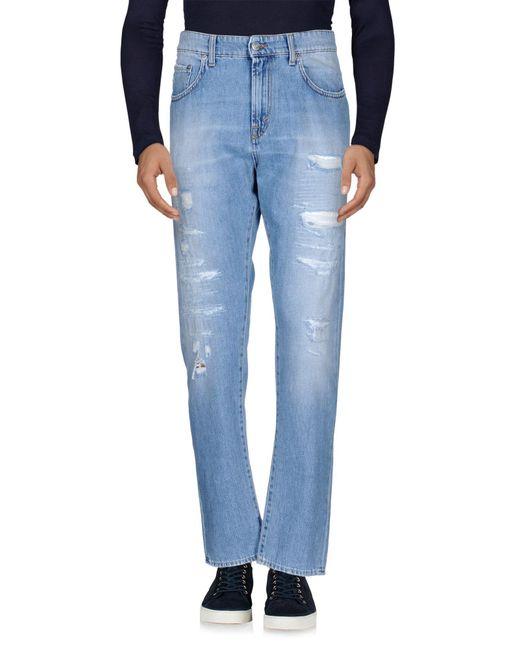 Department 5 | Blue Denim Pants for Men | Lyst