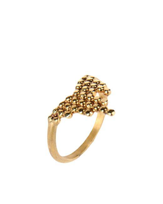Maria Black - Metallic Ring - Lyst