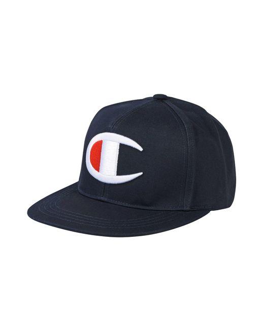 Champion - Blue Hat for Men - Lyst