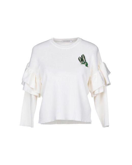 Vivetta - White Sweater - Lyst