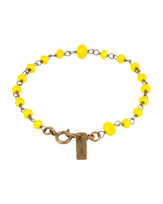Isabel Marant - Yellow Bracelet - Lyst
