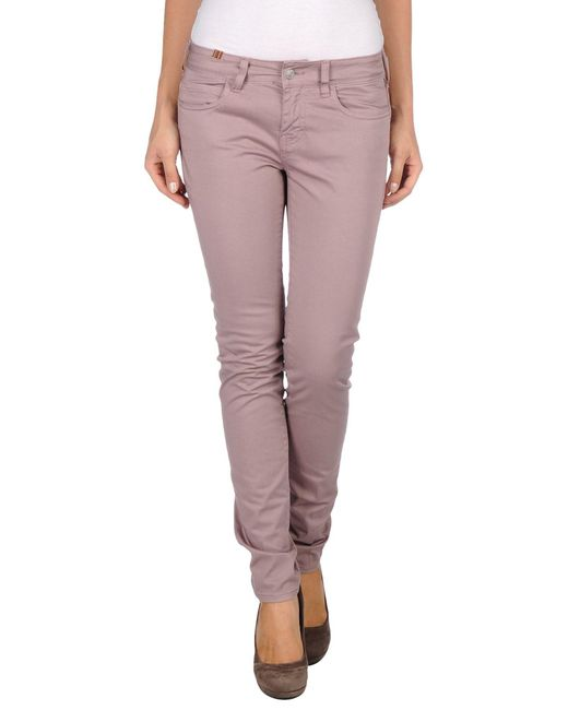 Notify - Pink Casual Pants - Lyst