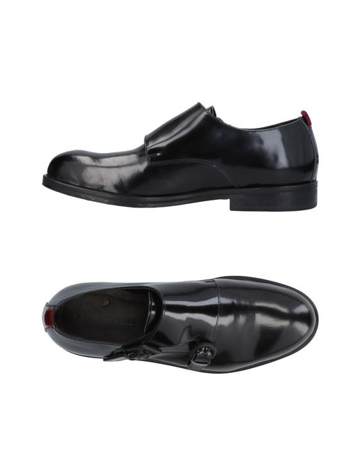 Attimonelli's - Black Loafer for Men - Lyst