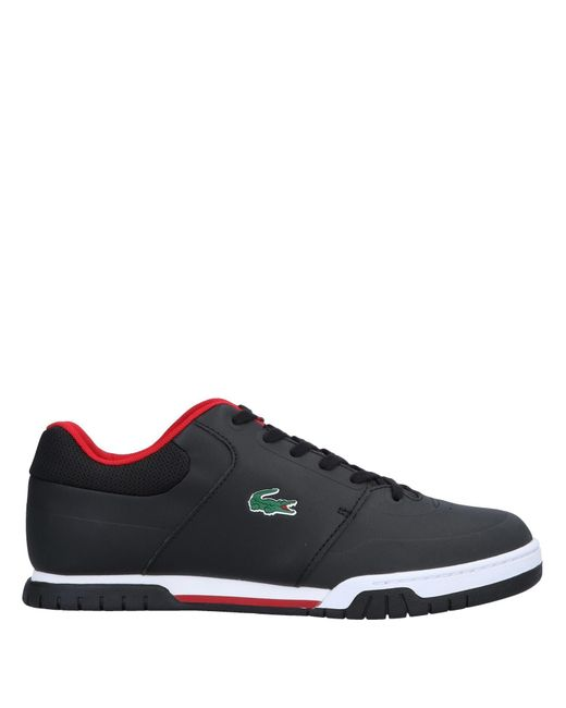 Lacoste - Black Low-tops & Sneakers for Men - Lyst