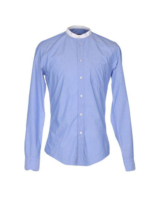 Brian Dales Blue Shirt for men