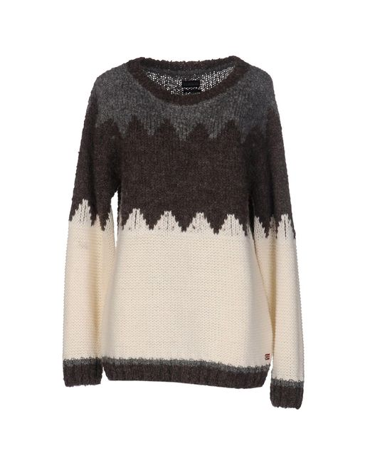 Napapijri - White Sweater - Lyst