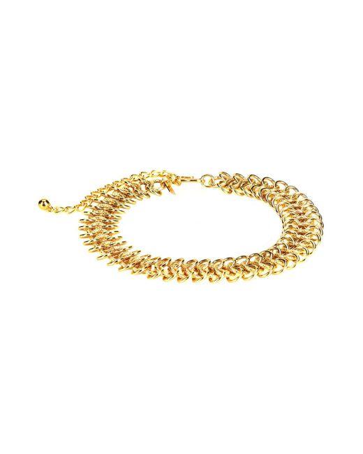Kenneth Jay Lane   Metallic Necklace   Lyst