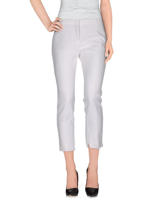 Schumacher - Natural Casual Pants - Lyst