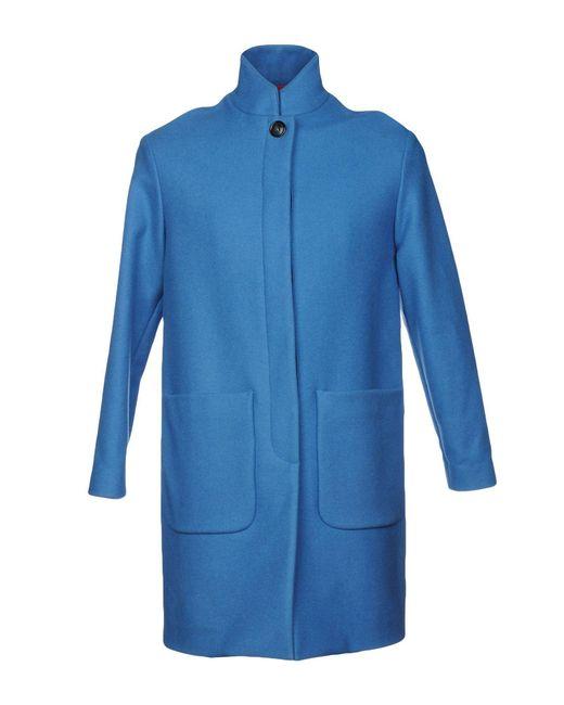 Department 5 - Blue Coat for Men - Lyst