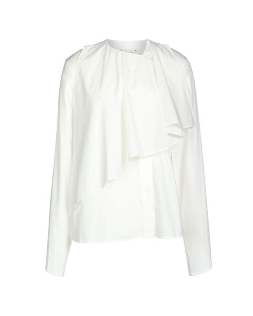 Lemaire - White Shirt - Lyst