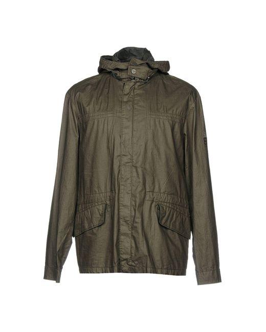 EA7 | Green Jacket for Men | Lyst