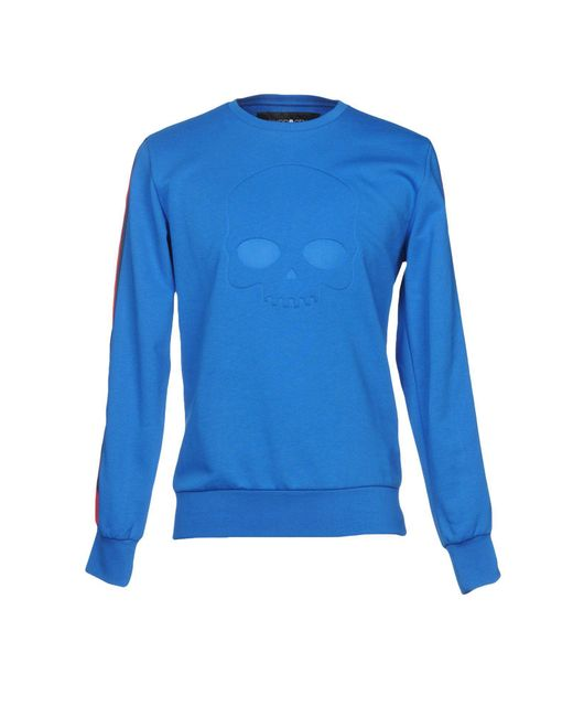 Hydrogen Blue Sweatshirt for men