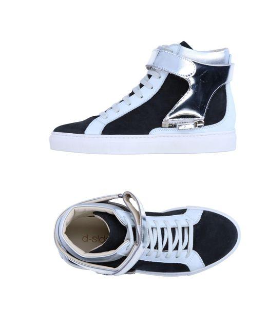 D-s!de - Black High-tops & Sneakers - Lyst
