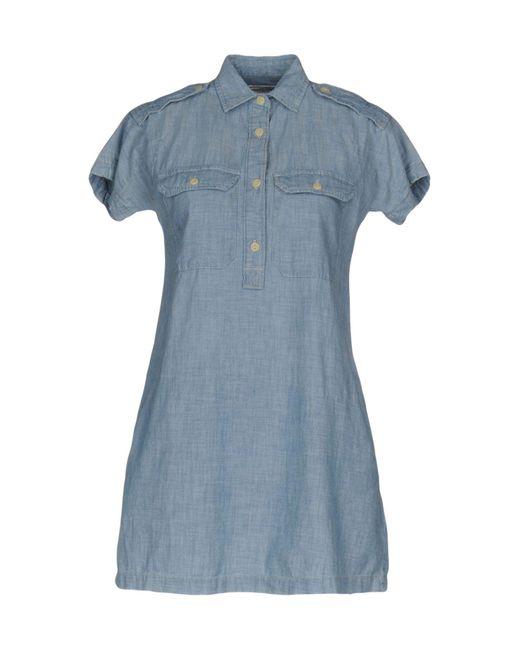 Denim & Supply Ralph Lauren - Blue Short Dress - Lyst