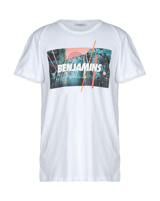 Les Benjamins - White T-shirt for Men - Lyst