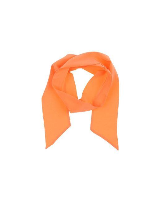 Michael Kors - Orange Oblong Scarf - Lyst