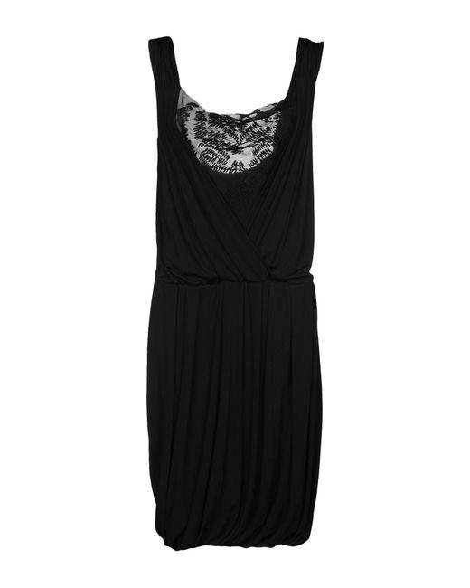 Iceberg - Black Knee-length Dress - Lyst