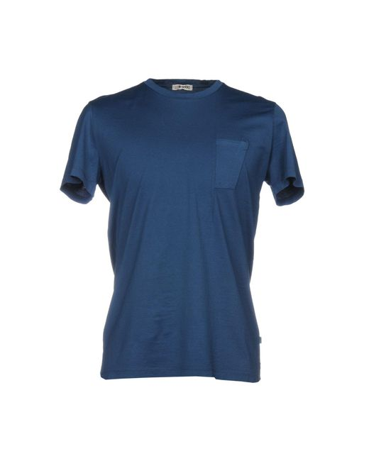Low Brand - Blue T-shirt for Men - Lyst
