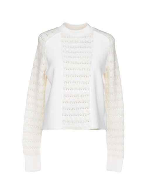 Sonia by Sonia Rykiel - White Sweater - Lyst