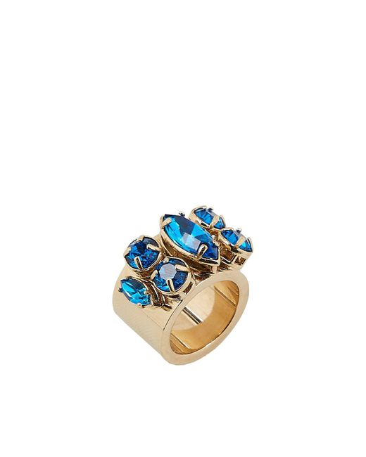 Valentino - Blue Ring - Lyst