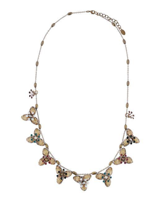 Tataborello - Metallic Necklace - Lyst