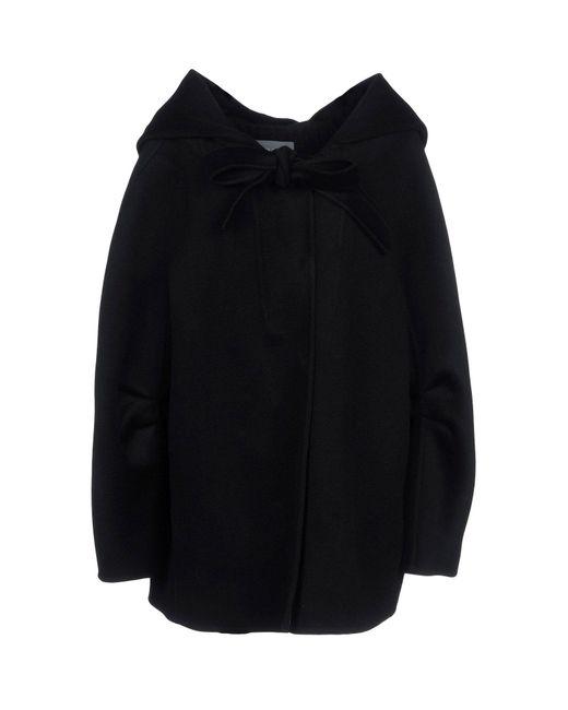 Alberta Ferretti - Black Coats - Lyst
