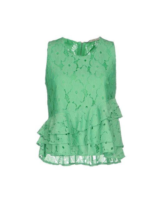 Silvian Heach - Green Top - Lyst