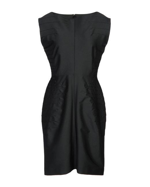 Maison Rabih Kayrouz - Black Short Dress - Lyst
