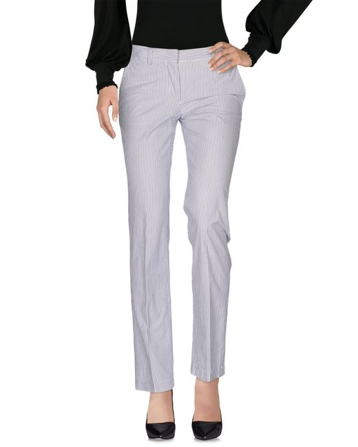 Aspesi - Gray Casual Pants - Lyst