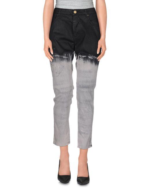 Superfine - Black Denim Pants - Lyst